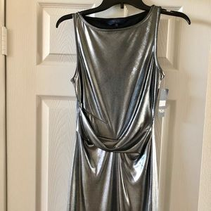 Rachel Roy Silver Dress XS NWT